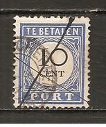 Holanda-Holland  Nº Yvert  Tasa-20 (Usado) (o) - Impuestos