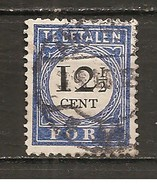 Holanda-Holland  Nº Yvert  Tasa-21 (Usado) (o) - Impuestos