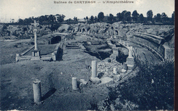 CARTHAGE Ruines De - L'Amphithéatre - Tunisia