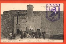 IBE-02  île Sainte-Marguerite  Lérins, Entrée Du Fort. Précurseur, Cirulé Sous Enveloppe. - Cannes
