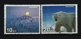 NORWEGEN - Mi-Nr. 1202 - 1203 Verwaltungsbezirk Svalbard Gestempelt - Norwegen