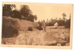 ALGERIA - BOU SAADA / Bou Saâda - LA FONTAINE MOBBOUL -  PHOTO COMBIER 1920s - Cartes Postales