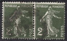 FRANCE 1932 -  PAIRE - Y.T. N° 278  - OBLITERES - FD540 - Oblitérés