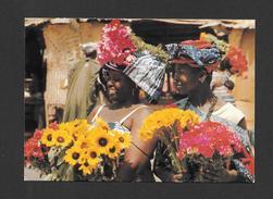 AFRIQUE - AFRIQUE EN COULEURS - MARCHANDES DE FLEURS - CLICHÉ P. CHARETON PAR IRIS - Cartes Postales