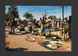 AFRIQUE - AFRIQUE EN COULEURS - MARCHÉ AFRICAIN - CLICHÉ P. CHARTON PAR IRIS - Cartes Postales