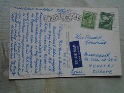 D148066 Western Australia  PERTH - 1961   Stamps  -postcard  Auto VW - 1854-1912 Western Australia