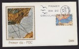 SPAIN ESPAGNE 1970 FDC GEOGRAPHY MAPS - Geographie