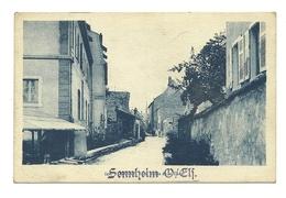 AK Sennheim - Elsass - Detail - Gelaufen Mit SS Feldpost - A/Battailon Sennheim - Guerre 1939-45