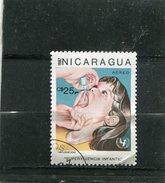 NICARAGUA. 1987. SCOTT 1589. CHILDREN'S WELFARE CAMPAIGN. VACCINATION - Nicaragua