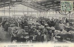 Dunkerque - La Poissonnerie - Edition M. Herrebrecht - Carte LL N° 94 - Dunkerque