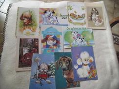 Lot De 10 Cartes  ILLUSTRATIONS - Cartes Postales