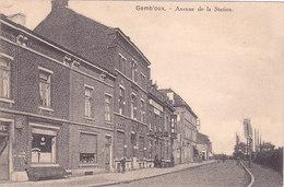 Gembloux - Avenue De La Station (animée, Café, Hôtel Drice) - Gembloux