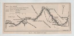 Plan Général De Ligne Argentine Chili - World