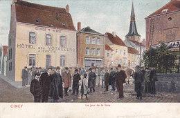 Ciney - Le Jour De La Foire (top Animation, DTC, Dr Trenkler, Colorisée, 1907) - Ciney
