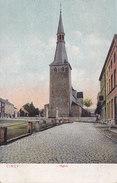Ciney - L'Eglise (DTC, Dr Trenkler, Colorisée) - Ciney