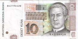 CROATIE   10 Kuna   9/7/2012   P. 38b - Croatie