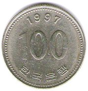 Corea Del Sud 100 Won 1997 - Corea Del Sud