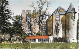 Allemagne-en-Provence (Basses-Alpes) - Le Château, Façade Midi - Edition Combier - Carte CIM Colorisée - Autres Communes