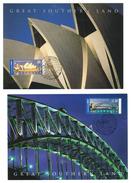 Océanie // Australie // Carte Maximum // 2 Cartes Maximum De Sidney - Cartes-Maximum (CM)