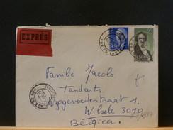 67/987   LETTRE  EXPRES ESPAGNE   POUR LA BELG. - 1931-Today: 2nd Rep - ... Juan Carlos I