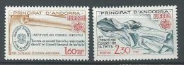 "Andorre YT 300 & 301 "" Europa "" 1982 Neuf** - French Andorra"