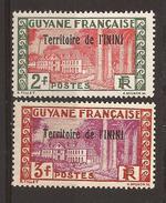 ININI - N° 24 & 25 - NEUF XX MNH (GC) - Inini (1932-1947)