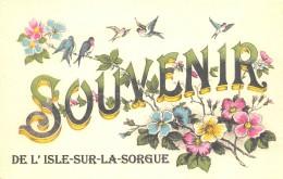 84 - VAUCLUSE / Fantaisie Moderne - CPM - Format 9 X 14 Cm - L' ISLE SUR LA SORGUE - Other Municipalities
