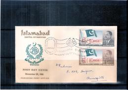 FDC Pakistan - Islamabad Capital - 1966 (to See) - Pakistan