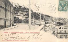 NAPOLI - Panorama Dal Corso V. Em E Parco Marhjerita. - Napoli (Naples)