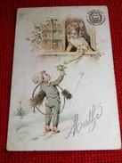 PUBLICITE  AMIDON REMY  -   Enfant Ramoneur  -  1905 - Reclame
