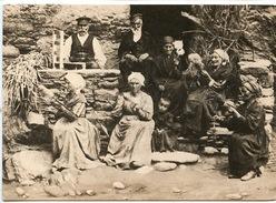 Corse 1900 Scènes Et Types : Groupe De Fileuses (ed Du Mouflon) - Ambachten