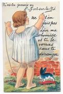 Cpa: 16 SAINT FORT SUR LE NE (ar. Cognac) Carte Système 10 Minivues (Léve Ma Chemise Et Tu Verras, Lapin à Roulettes) - France