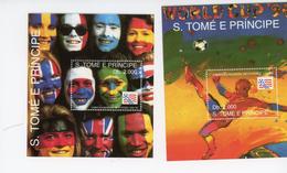 Sao Tome-1994-USA-coupe Du Monde De Football-MI B303-+304Valeur 22 Euro***MNH - World Cup