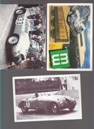 Automobile - Competition - 24 Heures Mans - Lot De 5 CPM - Bugatti, Porsche, Delahaye - Mutuelles Du Mans, Nissan - Turismo