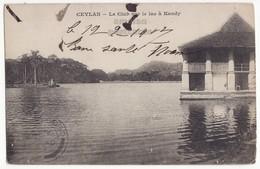 CEYLON SRI LANKA, Lake Club At Kandy C1907 UDB Vintage Postcard - CEYLAN - Sri Lanka (Ceylon)