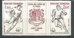 "Andorre YT 302A "" Footballeurs "" 1982 Neuf** - French Andorra"