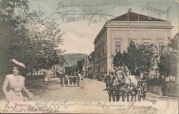 TREBINJE KEISERSTRASSE BOSNA AND HERZEGOWINA, PC, Circulated 1910 - Bosnien-Herzegowina