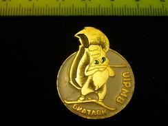 Biathlon World Championship 1990 USSR - Mascot Pin - Biathlon