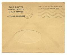 V Mail APO 345 - 10th Mountain Division - Modena , Italy - Seconda Guerra Mondiale