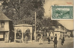 TRAVNIK BOSNA AND HERZEGOWINA, PC, Circulated 1909 - Bosnien-Herzegowina