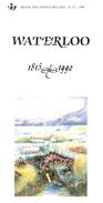 N°11 - 1990 FR - Waterloo - Avec Timbre Oblitéré 1er Jour - Postdokumente