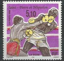 "SPM YT 625 "" La Boxe "" 1996 Neuf** - St.Pedro Y Miquelon"