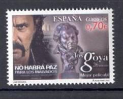 4.- SPAIN ESPAGNE 2012. CINEMA FILM MOVIES. GOYA PRIZES BEST FILM. NO HABRA PAZ PARA LOS MALVADOS