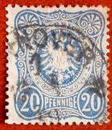 Allemagne Empire Y&T N° 33 Oblitérée Avec E Final Oblitération HANNOVER - Allemagne
