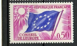 France 1963 50c  Council Of Europe Issue #1O9  MNH - Neufs
