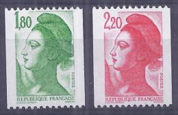 France 1985. YT = 2378-79 - Neufs Sans Charniere (**). Type Liberté - Neufs