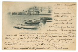 Egypte // Alexandrie, Le Palais Ras-el-Tin - Alexandrie
