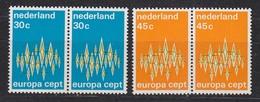 Europa Cept 1972 Netherlands 2v  Pair ** Mnh (35290D) - 1972
