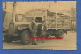 Photo Ancienne - PARIS - Coopérative Laitière Centrale - Ouvrier Devant Camion CITROEN - Pot Au Lait Laiterie - TOP - Cars