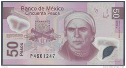 #07. MÉXICO. 50 PESOS 2008. SERIAL L. Ass. RAMOS & LEGASPI. POLYMER / PLASTIC. UNC / NEUF. - Mexico